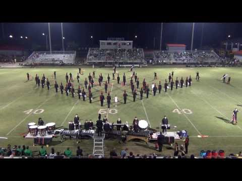 """Madison County High School Red Raider Band 2013 Competition Show """"Kaleidoscope"""" Opener and Ballad"""