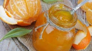 """Салат """"мандарины в шубе""""+мандариновое варенье!"""