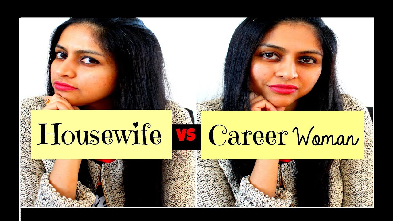 working women vs housewives A comparative study of working and non-working married women: effect of anxiety level on life satisfaction  higher in housewives than in working women.