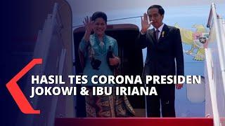 Gambar cover Umumkan Hasil Tes, Presiden Jokowi dan Ibu Iriana Negatif Corona
