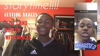 STORYTIME: Getting braces!! (+ do's and don'ts with braces)