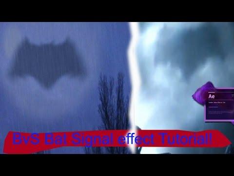 Bat Signal After Effects Tutorial