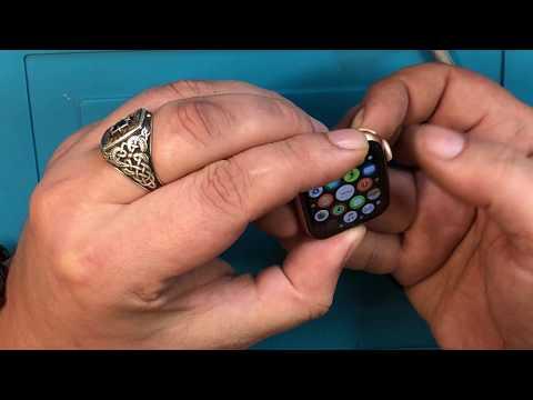 Замена стекла Apple Watch 4 40mm без использования струны!