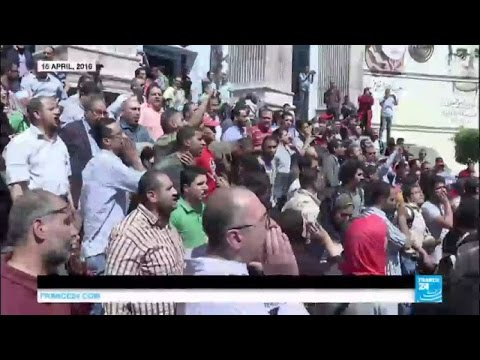 Egypt protests: President warns of firm response to anti-government demos