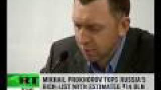 Russia's richest billionaire