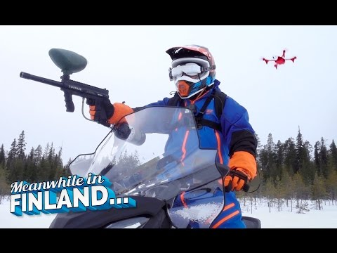 PAINTBALL WAR VIDEO GAME IN REAL LIFE!!