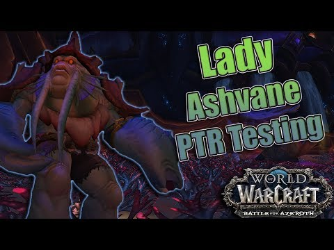 BFA - 8.2 The Eternal Palace Raid Testing! Heroic Lady Ashvane! Warlock (All 3 Specs) POV!