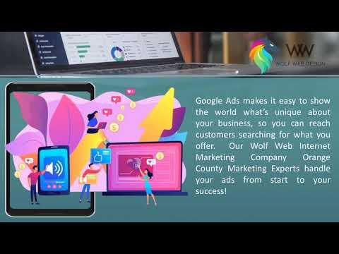 Internet & Website Marketing Company Orange County – Wolf Web Design