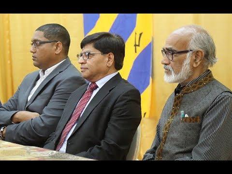 SRI SATENDER KUMAR, HONOURABLE AMBASSODOR  OF INDIA | Washington University of Barbados