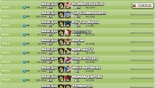 Clash of Clans - Aracaju - win 75 (PERFECT)