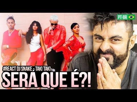 REAGINDO a DJ Snake - Taki Taki ft Selena Gomez Ozuna Cardi B