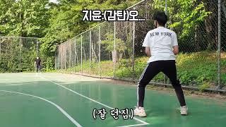 [Vlog]선발투수 답답해하는 친구 투수 연습시키기(※…