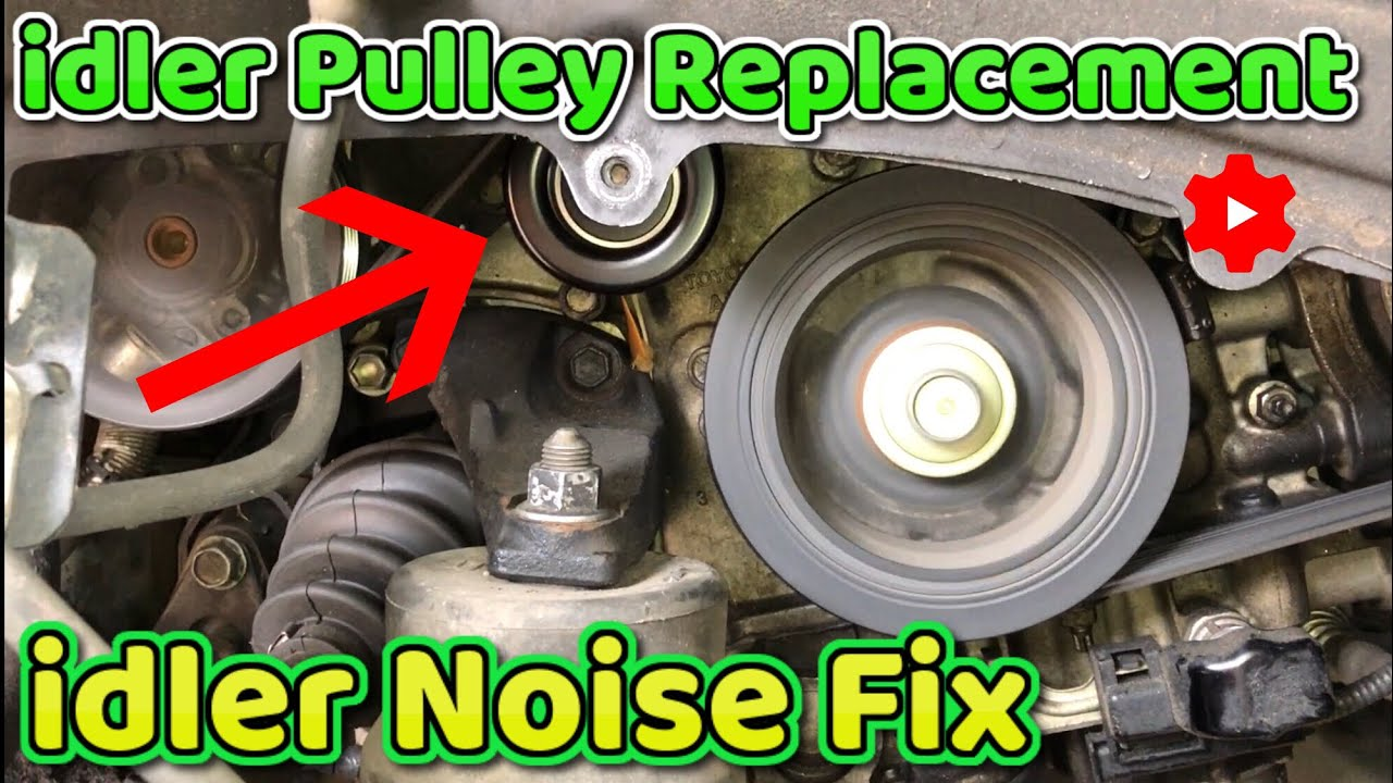 Lexus RX350 idler pulley how to replace 2007 - YouTubeYouTube