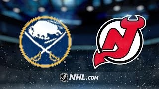 Two power-play goals push Devils past Sabres, 2-1