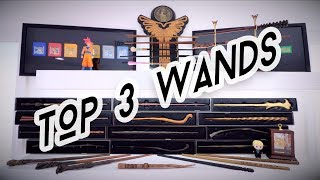 my top 3 favorite wands from noble collection, let me know if you a...