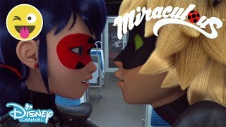 Miraculous Ladybug | Cat Noir and Plagg 🐱 | Disney Channel UK