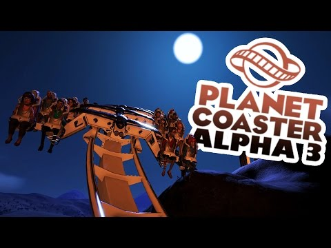 Planet Coaster Alpha 3 Gameplay - Ancient Greece Area! - Let's Play Planet Coaster Alpha 3 Part 3