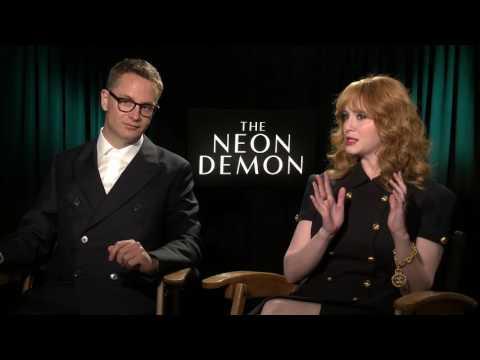 The Neon Demon Interview - Christina Hendricks & Nicolas Winding Refn