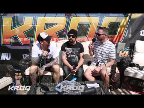 Stryker Interviews Volbeat at the KROQ Coachella House