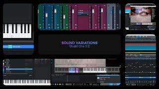 Studio One 5.2: Sound Variations
