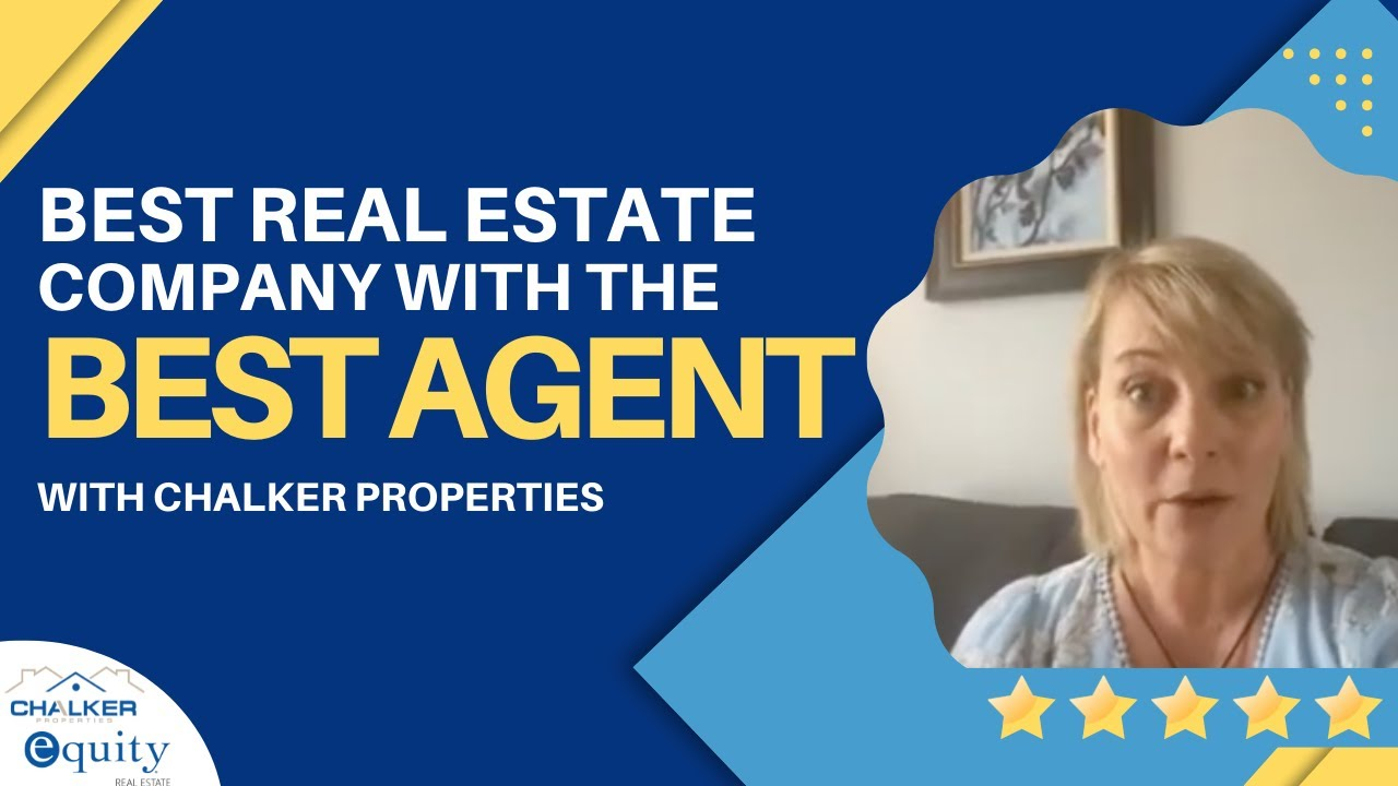The Best Real Estate Company with the Best Agent |  Charisse Walker of Chalker Properties