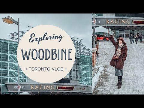 Exploring Woodbine Casino + Mall & Fantasy Fair (Toronto, Ontario)   February Vlog