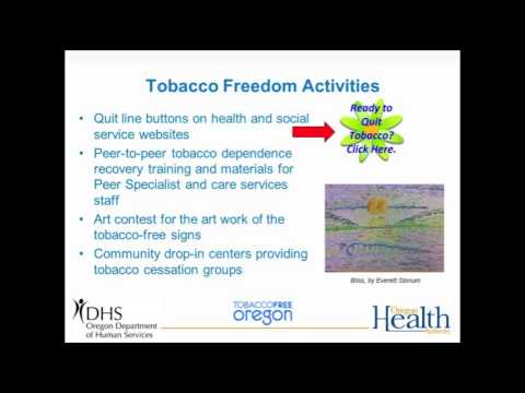 Leading Health Indicators Webinar: Tobacco (Part 3 of 6)