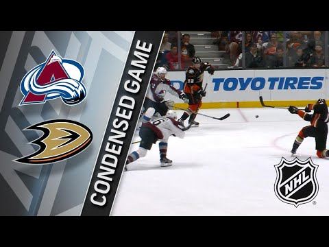 04/01/18 Condensed Game: Avalanche @ Ducks