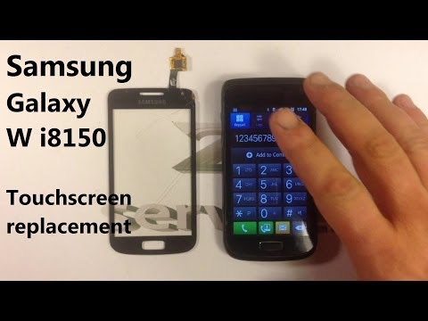 Samsung Galaxy W i8150 - Touch Screen Replacement