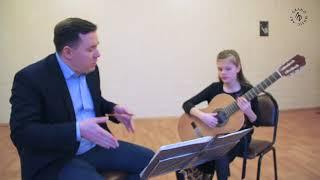 Мастер-класс Дмитрия Мурина. Классическая гитара