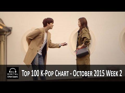 Top 100 K-Pop Songs Chart - October 2015 Week 2