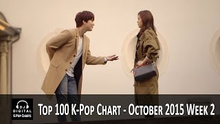 Top 100 K-Pop Songs Chart - October 2015 Week 2