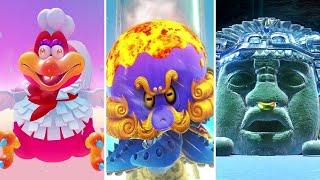 Super Mario Odyssey Walkthrough Part 15 - All Boss Rematches in the Mushroom Kingdom