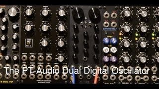 PT-Audio Dual Digital Oscillator demo