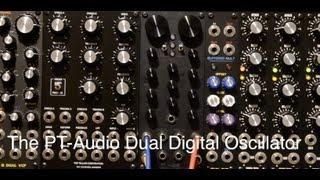 PT-Audio Dual Digital Oscillator demo
