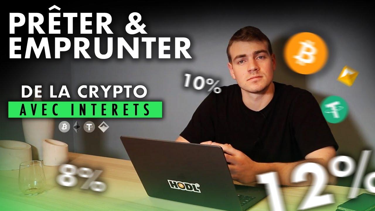Prêt et emprunt en Crypto ? 6 à 12% d'interêt par an | Introduction DeFi