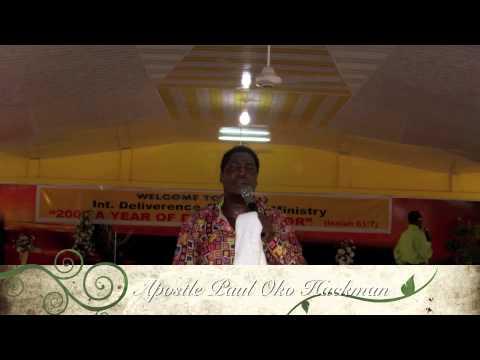 Apostle Paul Oko Hackman -  Medawase