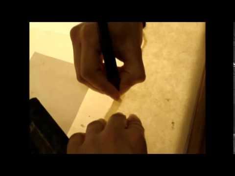 Tracing Paper Conservation- BA Restoration Lab ترميم ورق الكالك