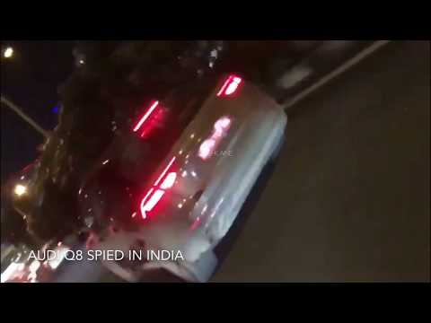 New Audi Q8 Spied in India - Launch in 2018