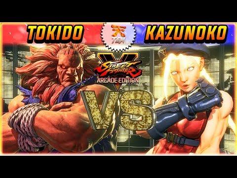 SFV/SF5 3.5 ✪ TOKIDO VS KAZUNOKO   RANKED SETS ✪ SFV/SF5 AE