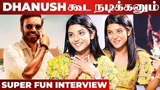 """Dhanush and Suriya are also Acting"" – Actress Nivedhithaa Interview About Sillu Karupatti"