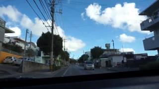 【沖縄の車窓から】【2】宜野湾コンベンションシティ〜西原入口辺り