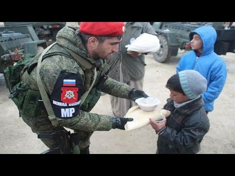 Syria War 2017 - Battle for Syria 2017 - Russian Military Police in Aleppo