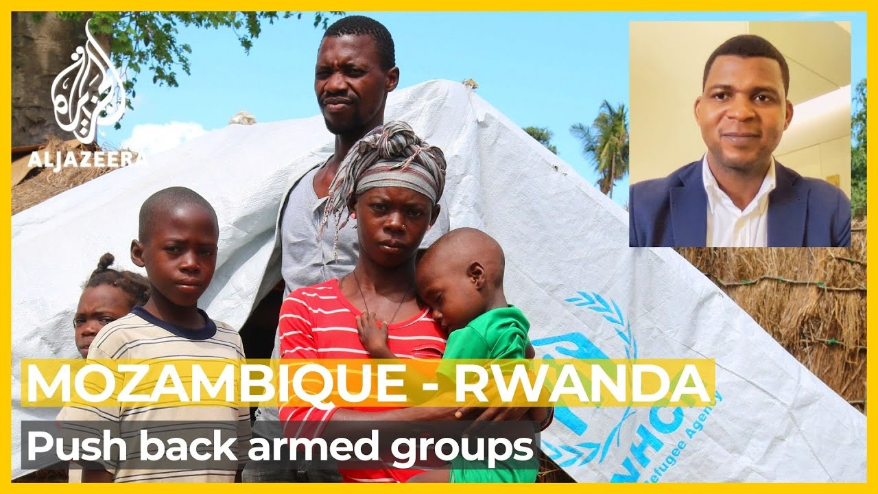 Download Rwandan forces help push back armed groups in northern Mozambique