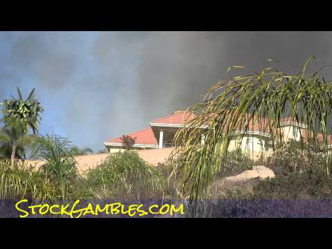 San Diego Fires 2014 News East County I8 El Cajon Wildfires Reverse 911 calls