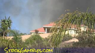 San Diego Fires 2014 News East County I8 El Cajon Wildfires Reverse 911 calls