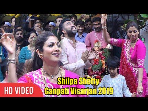 Shilpa Shetty CRAZY DANCE at Ganpati Visarjan | Shilpa Shetty Ganpati Visarjan 2019 Mp3