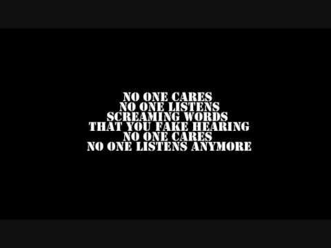 atreyu no one cares lyrics youtube
