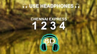 Download Mp3 One Two Three Four Chennai Express 8D SONG BASS BOOSTED HINDI SONG
