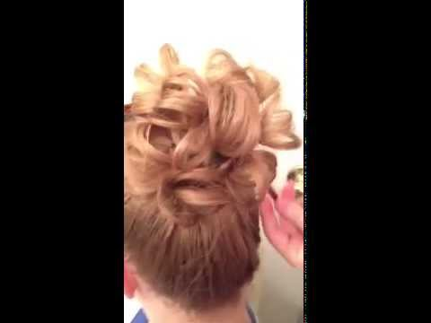 Apostolic Up Do - Crazy for pin curls